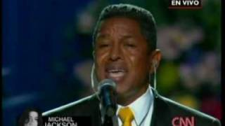 JERMAINE JACKSON - SMILE - MICHAEL JACKSON MEMORIAL