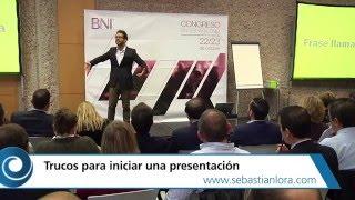 Cómo Iniciar una Presentación en Público y Captar la Atención de la Gente: 3 formas de empezar
