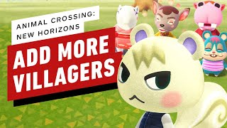 Animal Crossing: New Horizons - How to Add More Villagers to Your Town