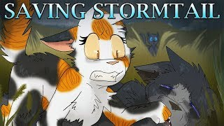 Saving Stormtail - Spottedleaf: Day 3 - Warrior Cats Speedpaint/Theory
