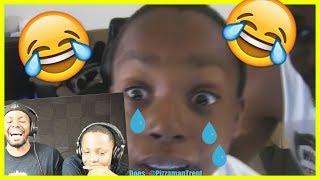 REACTING TO TRENT RAGING & CRYING! - MAV3RIQ Fam Reacts Ep.3