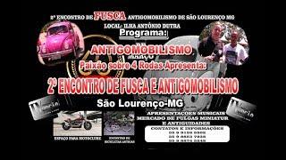 2º Encontro em São Lourenço-MG.2019