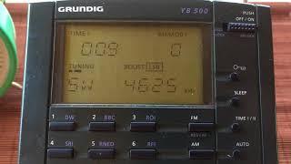 Buzzer UVB-76 Shortwave 4625 kHz Daytime May 2018