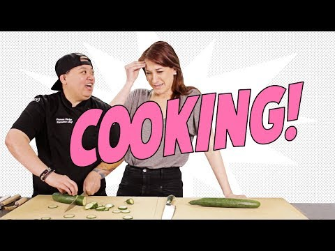 Failing at Cooking with Top Chef's Frances - Joanna Tries