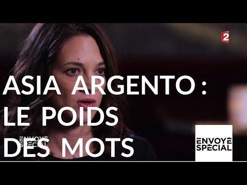 Envoyé Spécial. Asia Argento le poids des mots - 26 octobre 2017 (France 2)
