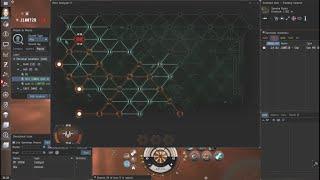 EvE Online - Null Sec Exploration - Astero - Drone Region