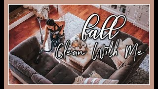 LONG FALL CLEAN WITH ME | ENTIRE HOME ORGANIZATION
