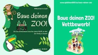 Baue deinen Zoo! Wettbewerb