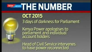 The Number: Kenya experienced more than 5 hours without power
