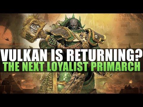 loyalist primarch 40k