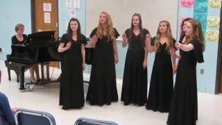 MO District Music Contest Liberty High School Women's Ensemble The Fashions Change