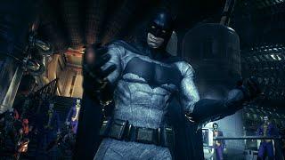 Batman: Arkham Knight (PS4)(Batman V Superman Skin Walkthrough) [Part 6] Stagg Airships