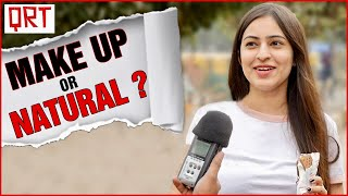 Do Boys Like Girls with MAKEUP or NATURAL BEAUTY ?   DATING TIPS   Makeup Tutorial   QRT