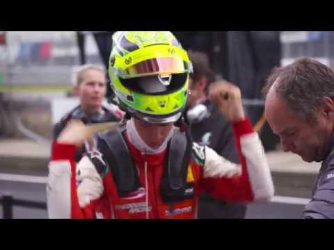 Mick Schumacher testet DTM-Fahrzeug am Nürburgring