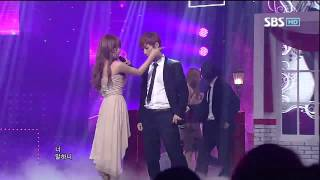 Wonder Girls [Girl friend] @SBS Inkigayo 인기가요 20120610