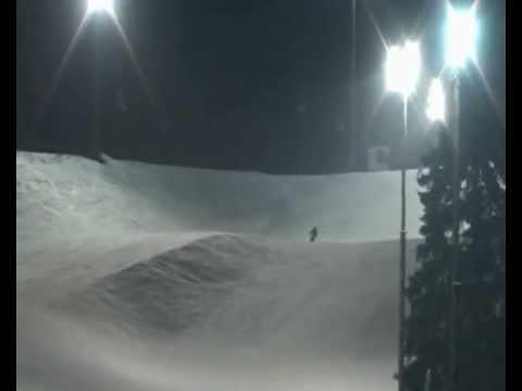 Видео: Видео горнолыжного курорта Икша в Московская область