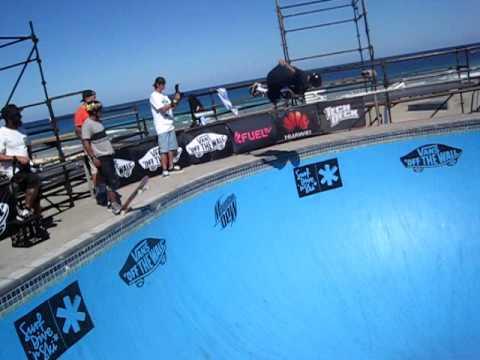 Skateboard Master Nicky Guerrero