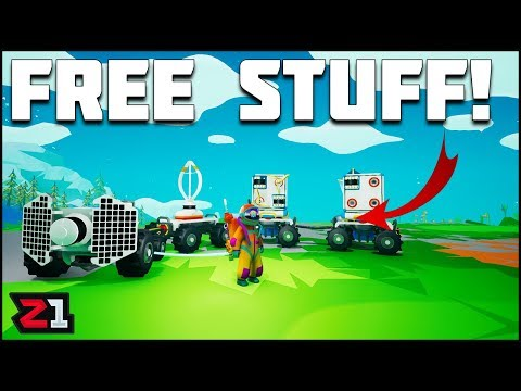 Scavenging FREE STUFF ! Astroneer Summer Update Series Episode 2 | Z1 Gaming