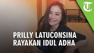 Syuting Film Danur 3, Prilly Latuconsina Tak Bisa Lihat Pemotongan Hewan Kurban