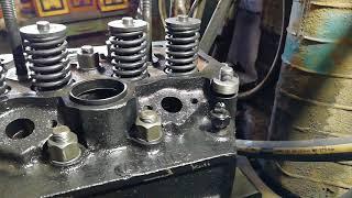 установка головки блока цилиндров двигателя д 240