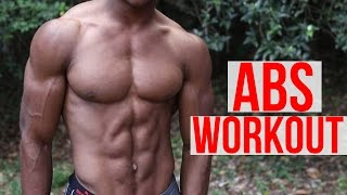 5 Minute Home ABS Workout - Follow Along by Austin Dunham