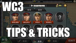 World Conqueror 3 Tips and Tricks