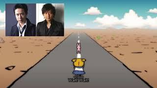 [ポプテピピック]仕事を放棄して雑談し始める杉田智和と中村悠一
