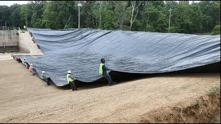 Watch How Owens Corning RhinoMat Geomembranes Are Made, Fabricated And Installed