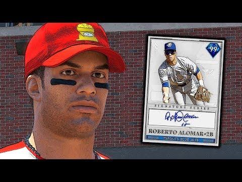 99 ROBERTO ALOMAR DEBUT! MLB THE SHOW 19 DIAMOND DYNASTY