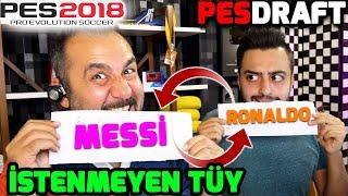 EN İYİ OYUNCULARI ÇÖPE ATMA CHALLENGE! | PES 2018 PESDRAFT