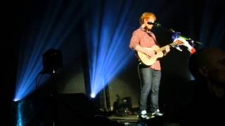 Ed Sheeran - Afire Love / West coast of clare / Partying glass (Lyon 22.11)