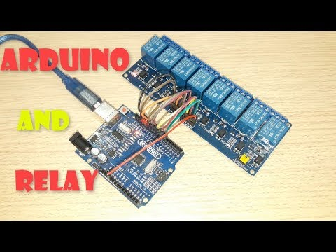 Banggood How To Use and connect arduino with 5V 8 Channel Relay Module