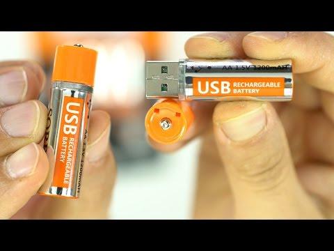 Questa è la batteria del futuro! STILO, LIPO E USB!