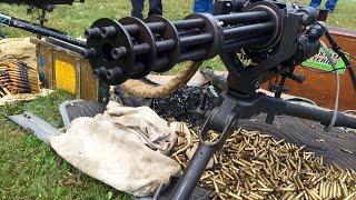 Machine Gun Shoot 2015  HK MP5 AK47 MG42 M16