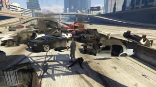 GTA 5 tập 13 - Vụ tai nạn giao thông kinh hoàng nhất lịch sử GTA 5