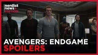 Avengers: Endgame Spoilers (Nerdist News Edition)