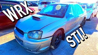 Copart Walk Around 1-2-20 + $1K WRX STi