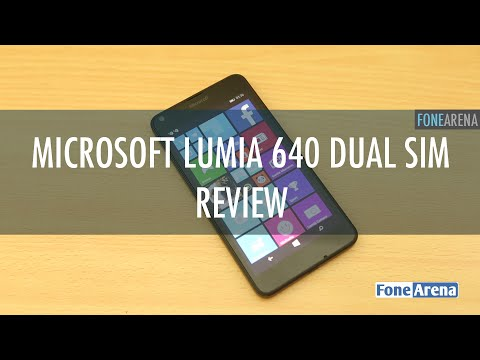 Microsoft Lumia 640 Dual SIM Review