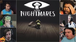 Gamers Reactions to the Six Eating a Gnome | Little Nightmares