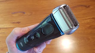 BRAUN Series 5 Shaver Model 5190cc with Clean&Charge System - Unbox and Test.