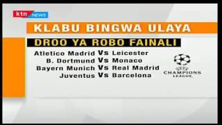 Mabingwa watetezi wa klabu bingwa barani ulaya Real Madrid watapambana na Bayern Munich katika robo