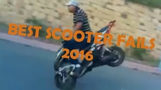 BEST & FUNNIEST Scooter fails Compilation 2016