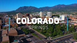 Colorado Springs, Colorado | 4K drone footage