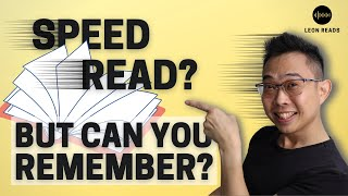 How To Read A Book Fast And Remember It