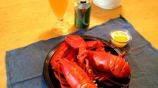 Maine Lobster....From the Boat to the Table