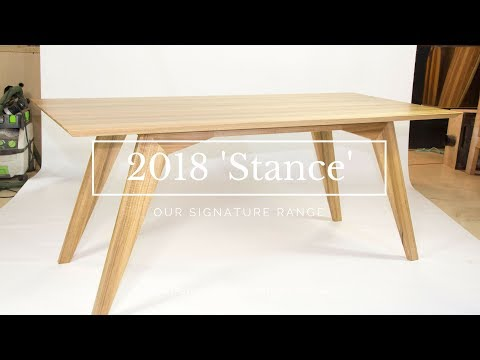 STANCE - Our new range of mid century modern dining tables.