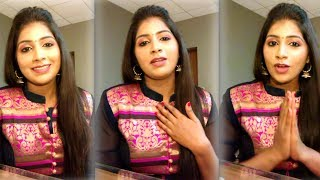 Sun tv Vj  Toshila Umashankar thanks for  Birthday Wishes Videos