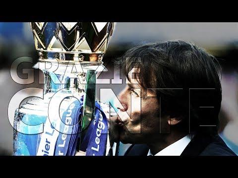 GRAZIE ANTONIO CONTE • TRIBUTE 2016-2018 • Chelsea FC   HD