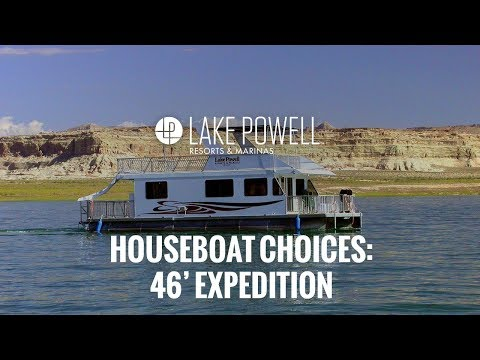 Economy Class 46' Expedition  Houseboat Video