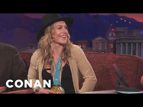 How Jamie Anderson Stayed So Chill At The Olympics  - CONAN on TBS
